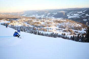 In Kvitfjell fanden schon Olympische Spiele statt.