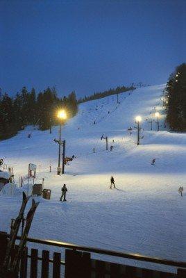 Nachtskifahren in La Bresse Hohneck