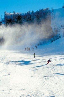 Das Wintersportparadies befindet sich in der Region Lothringen