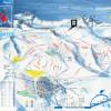 Pistenplan des chilenischen Skigebiets La Parva