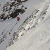 Freeride im Skigebiet La Parva.