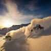 Das Wintersportgebiet liegt auf einer Höhe von 2.653 bis 3.574 m.