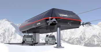 Neue 10 Kabinenbahn Ladurns