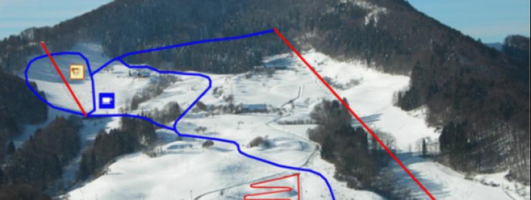 Pistenplan Langenbruck