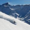 Der höchste Punkt des Skigebietes liegt auf 3430 Meter.