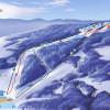 Pistenplan Laskowa Ski