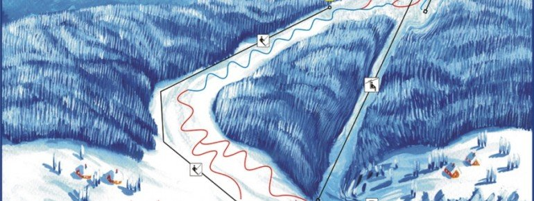 Pistenplan Laskowa Kamionna
