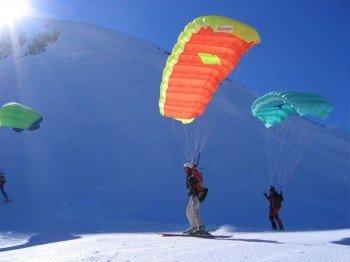 Le Mont-Dore, Speed-Riding - © Office de Tourisme Massif du Sancy