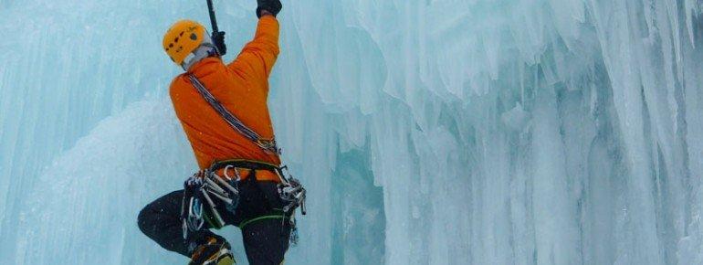Le Mont-Dore, Cascade de glace - © Office de Tourisme Massif du Sancy