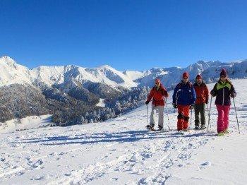 Le Mont-Dore, Randonnée Raquettes - © Office de Tourisme Massif du Sancy