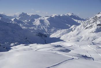 Der Arlberg ist die Wiege des alpinen Skilaufs.