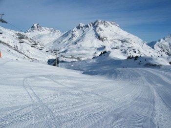 305 Pistenkilometer erwarten die Gäste in Lech