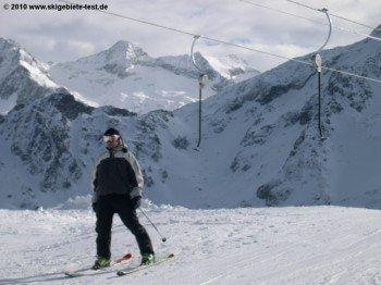 Sehr schwer zu befahren: Diese alten Tellerlifte finden sich noch in allen französischen Skigebieten!