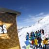 Das Skigebiet erstreckt sich bis auf 3600 Meter Höhe.