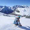 Fortgeschrittene finden im ganzen Skigebiet attraktive Pisten