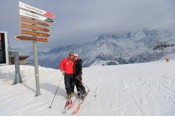 Ambitionierte Skifahrer sollten die Kandahar-Abfahrt nicht verpassen