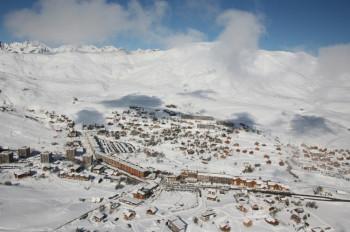 La Toussuire liegt auf 1750 Metern.