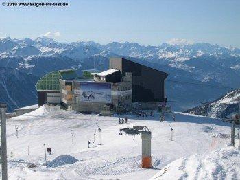 Das Restaurant Rinderhütte an der Bergstation Torrent-Schlepplift!