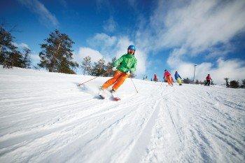 Auf den weitläufigen Pisten ist Skispaß garantiert.
