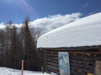 Schnee gab es bei unserem Testbesuch mehr als genug.