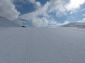 Bestens präparierte Pisten im Skigebiet Zettersfeld