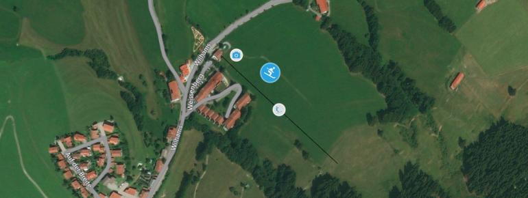 Pistenplan Liftanlagen Oberwilhams