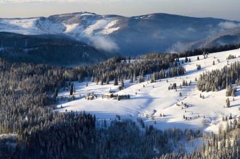 Der Feldberg im Winter