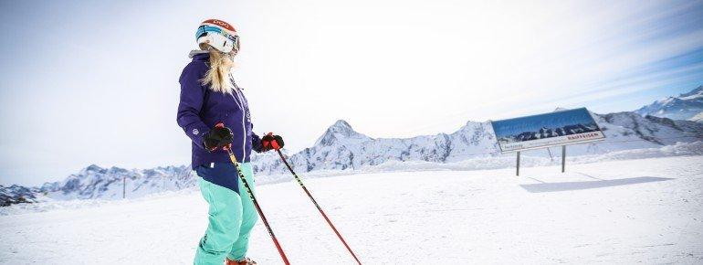 Skifahren im magischen Tal