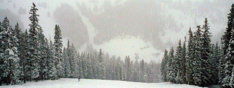 Die Avalanche Bowl-Abfahrt!