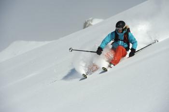 Auch für erfahrene Skifahrer ist in Madrisa etwas geboten.