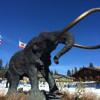 Das eiserne Mammut ist das Wahrzeichen von Mammoth Mountain.