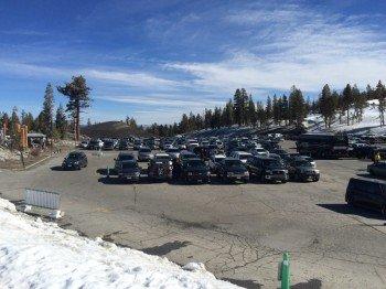 Kostenlose Parkplätze an den Talstationen - nur wer ganz vorne parken möchte, muss extra zahlen.