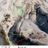 Pistenplan Skigebiet Manganui