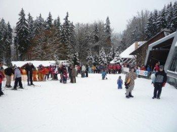 1,6 Pistenkilometer stehen zum Skifahren und Snowboarden zur Verfügung.