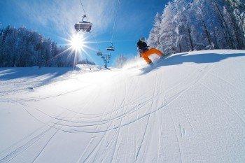 Insgesamt stehen dem Wintersportler 42,5 Pistenkilometer zur Verfügung.