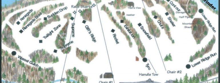 Pistenplan Marquette Mountain
