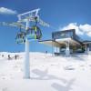Die Bergstation der neuen Möslbahn. Geöffnet seit Dezember 2018.