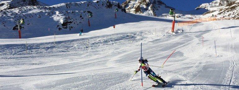 Am Penken trainieren auch die Profis für ihre Weltcup-Rennen.