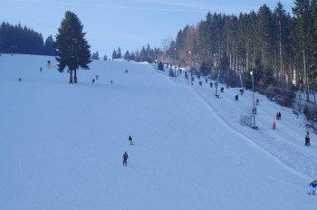 Winterspaß am Klausenlift.