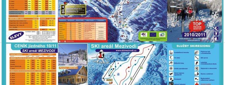 Pistenplan Mezivodi Ski Akademie
