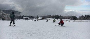 Mitterdorf ist auch bestens geeignet für Skifahrer mit Handicap.