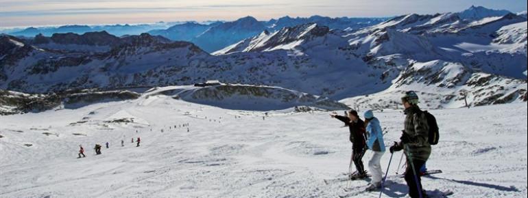 Das einzige Gletscherskigebiet Kärntens bietet ganzjähriges Skivergnügen.