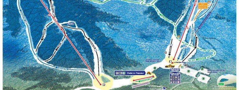 Pistenplan Mont Ste Marie