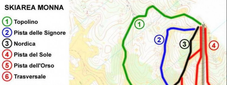 Pistenplan Monte Livata