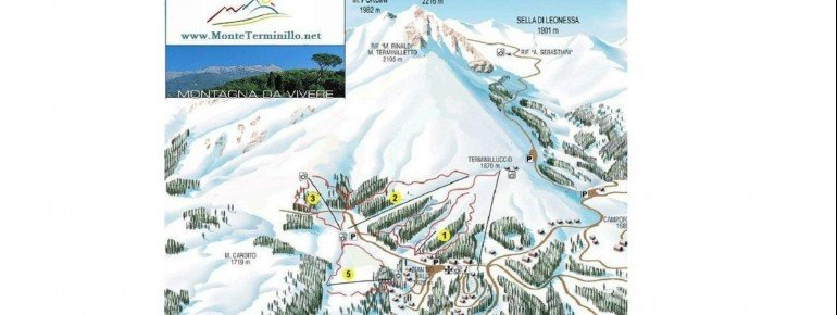 Pistenplan Monte Terminillo