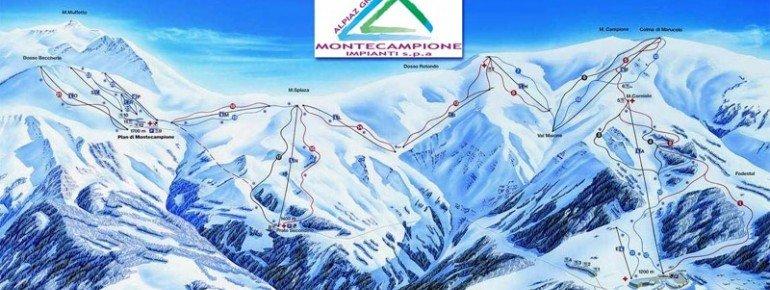 Pistenplan Montecampione