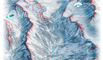 Pistenplan Monterosa Ski: Champorcher