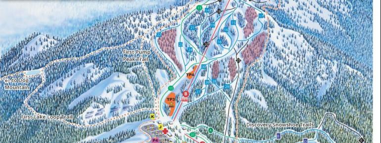 Pistenplan Mount Seymour