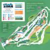 Pistenplan Mount Sima