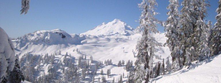 In den Bergen von Washington State lässt es sich wunderbar Ski fahren.